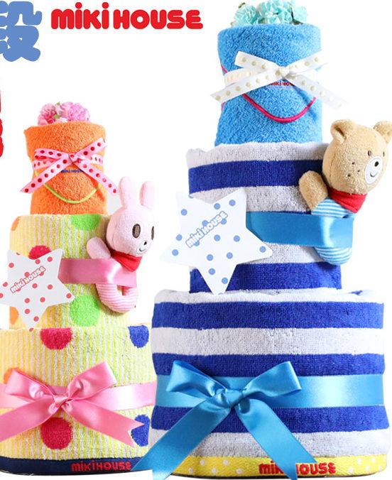 おむつケーキは出産祝いに人気!選ぶポイントやおすすめ商品は?