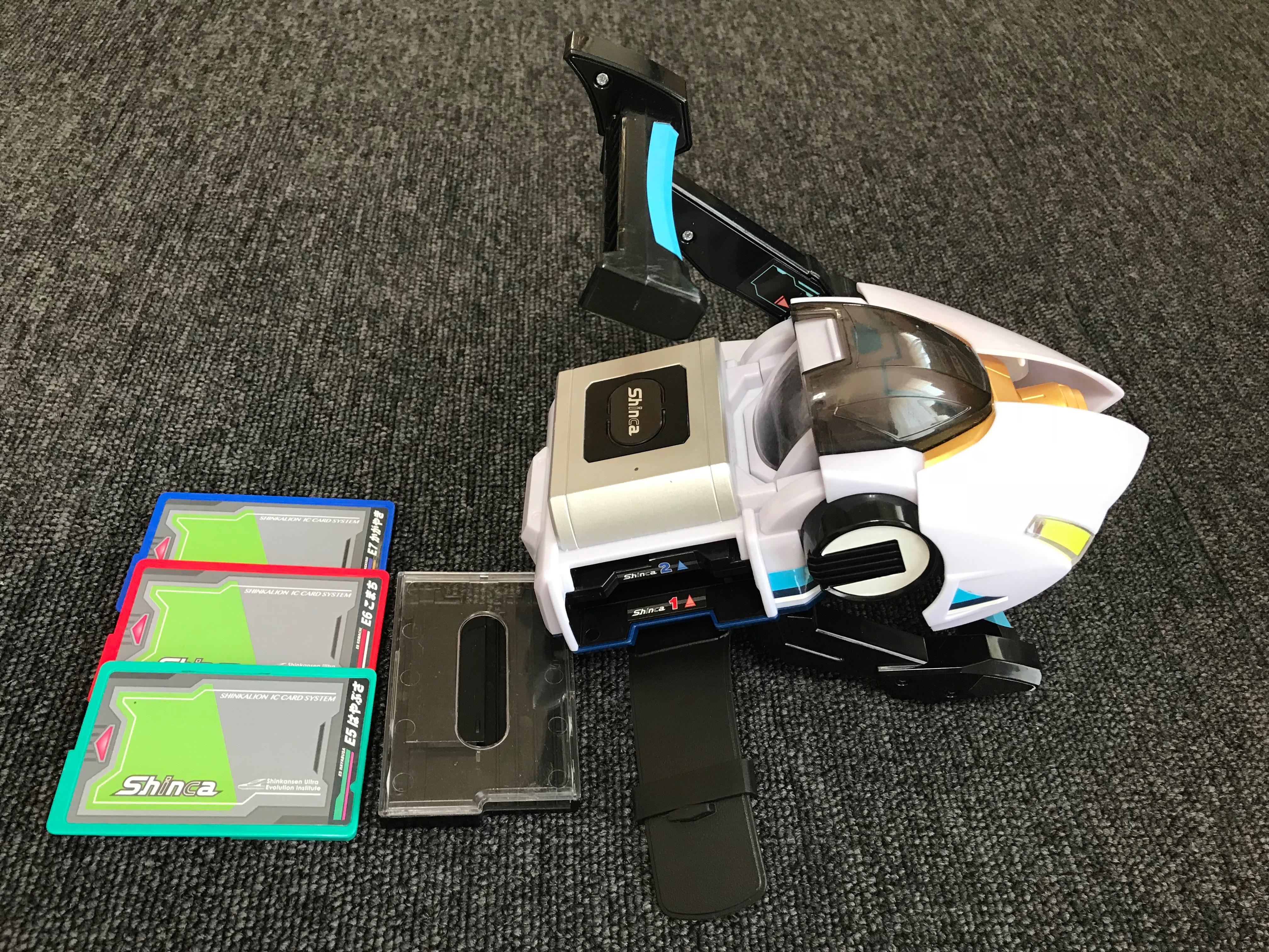 新幹線変形ロボ シンカリオンのおもちゃ「シンカギア 」をレビュー!