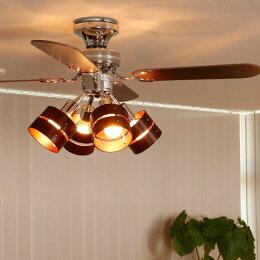 おしゃれなシーリングファンライト8選!サイズ・ライトの種類・消費電力は?