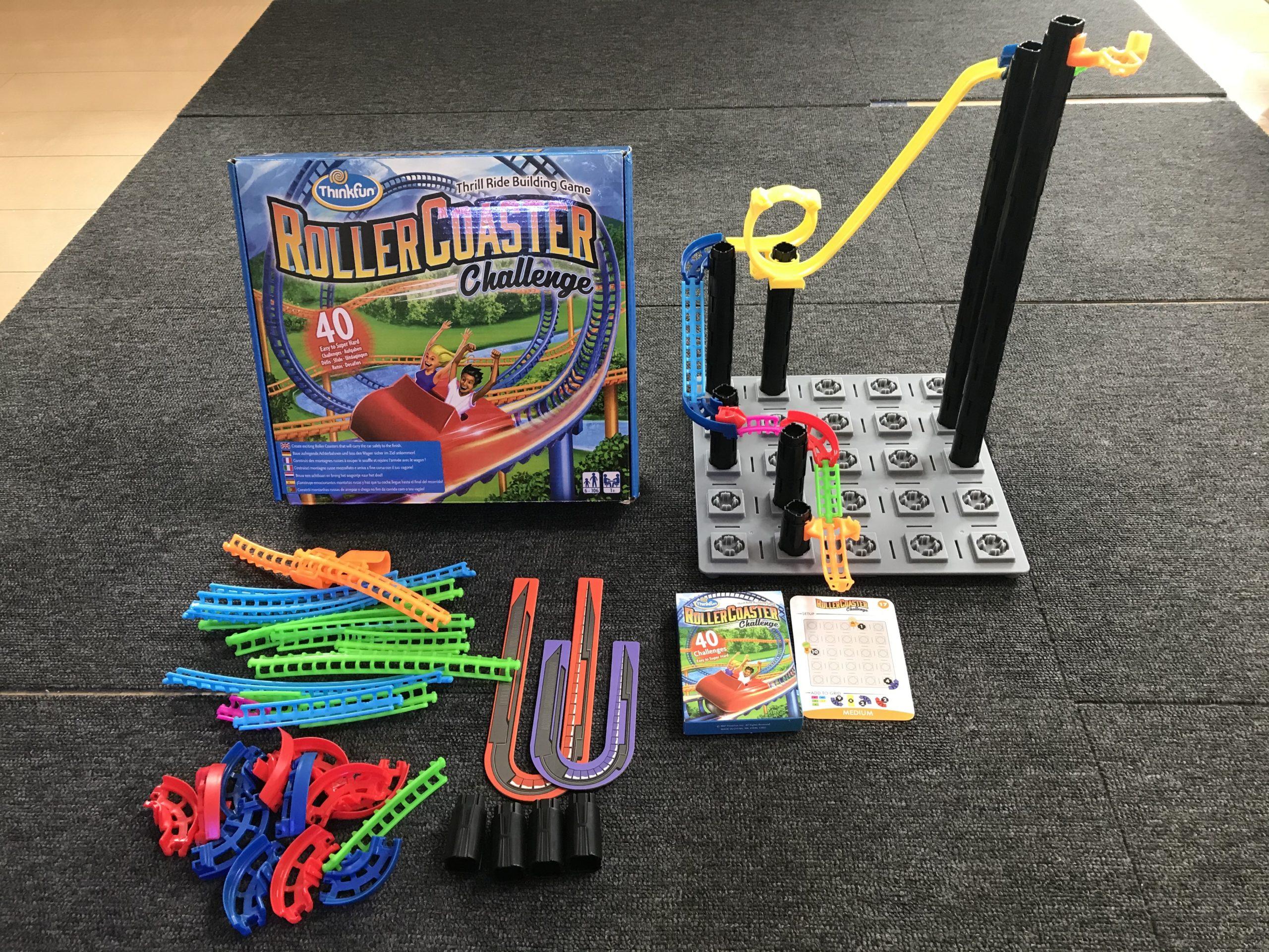 知育玩具レビュー/シンクファンの「ローラー・コースター・チャレンジ」でプログラミング学習