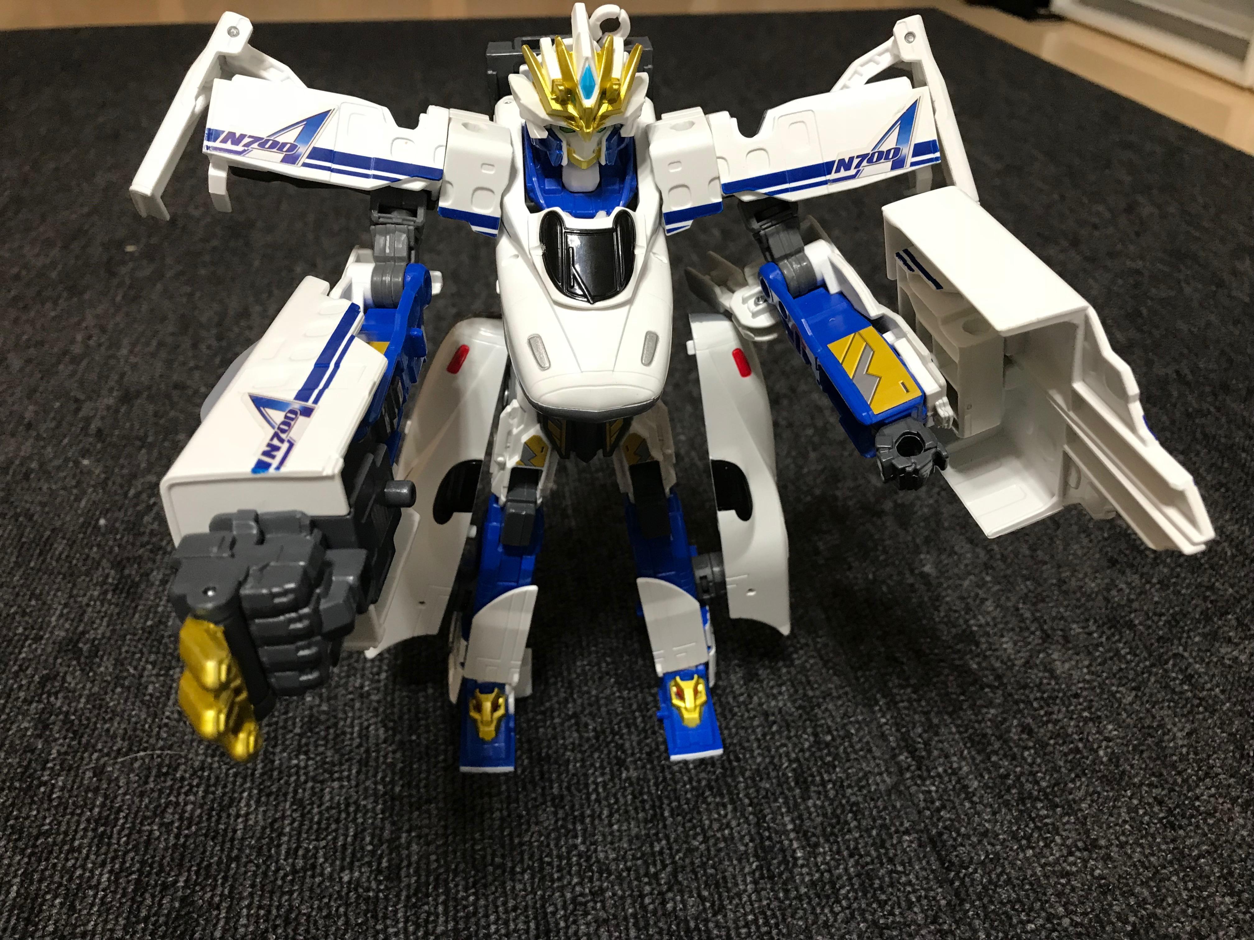 「新幹線変形ロボ シンカリオン N700Aのぞみ」とは?おもちゃレビュー!