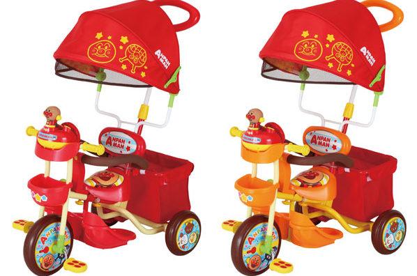 人気の三輪車「それいけアンパンマンデラックスⅡ」を1歳から使った感想